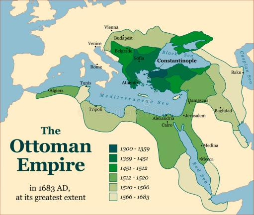 ottoman-empire-acquisitions-its-greatest-extent-vector-illustration-48032090
